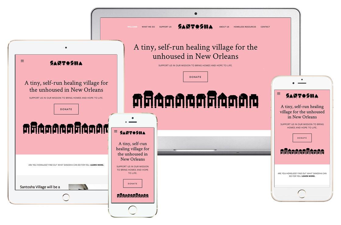 Santosha Website Devices