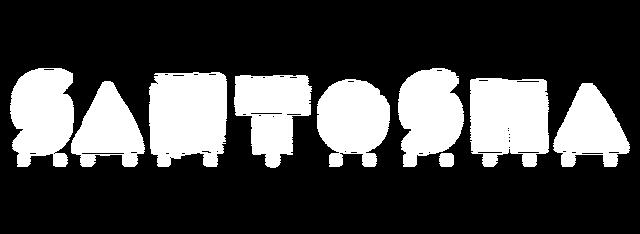Santosha Logo White Preview