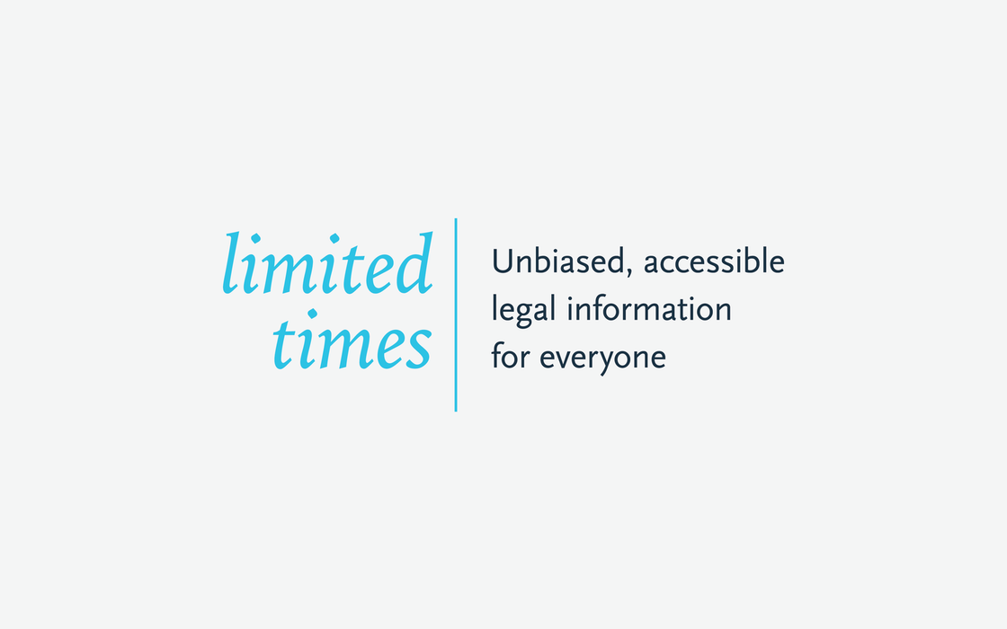 Limited Times Primary Logo