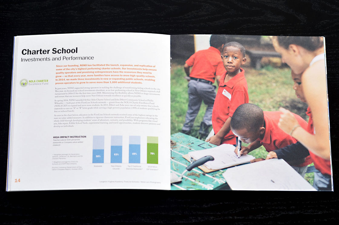 New Schools Annual Report 03