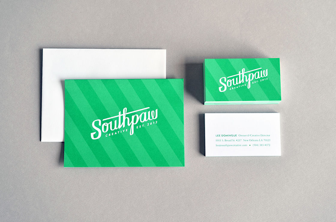 Southpaw Rebrand Printed Materials 01