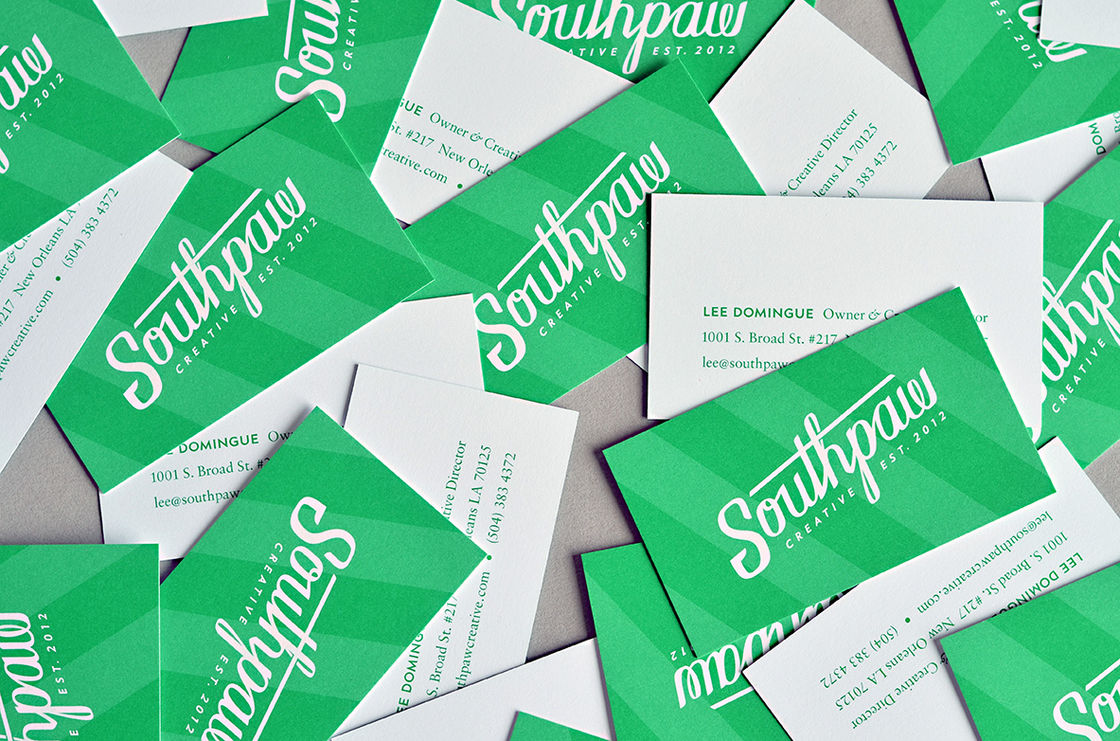 Southpaw Rebrand Printed Materials 02