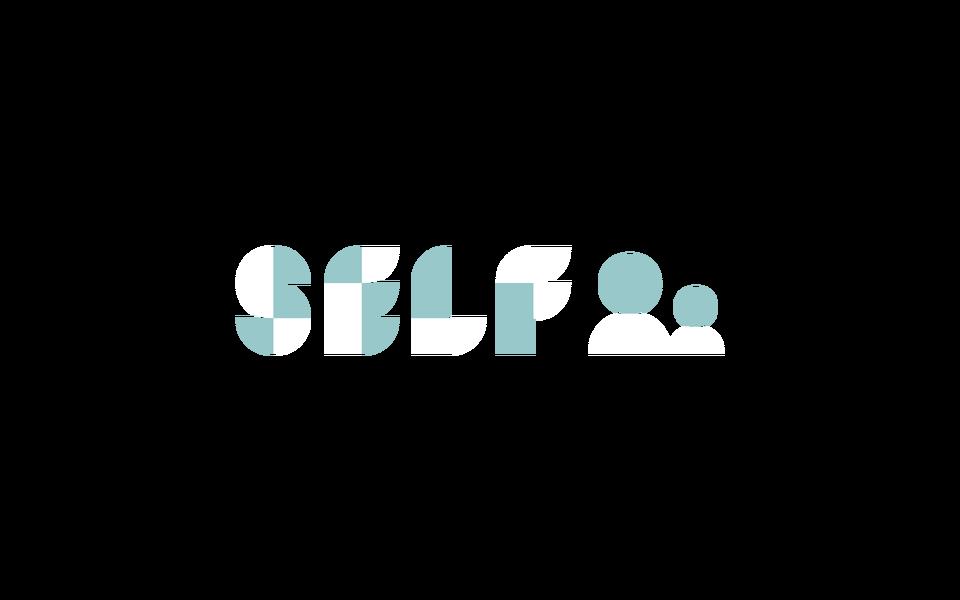 SELF logo on dark
