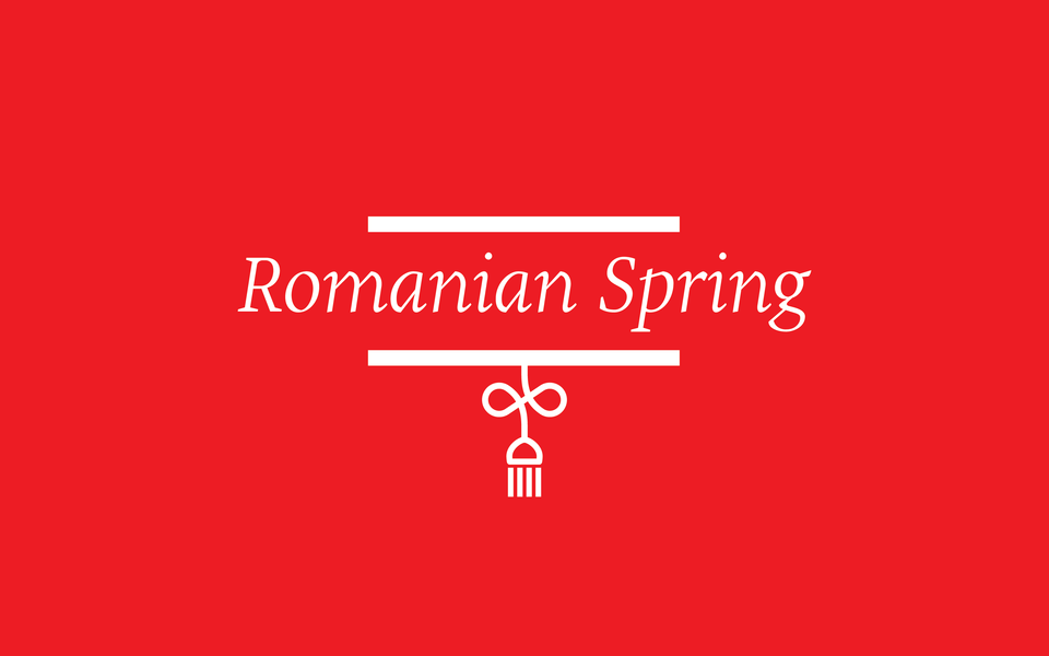 Romanian Spring Logo One Color