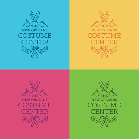 Costume Center Identity Logo Variations
