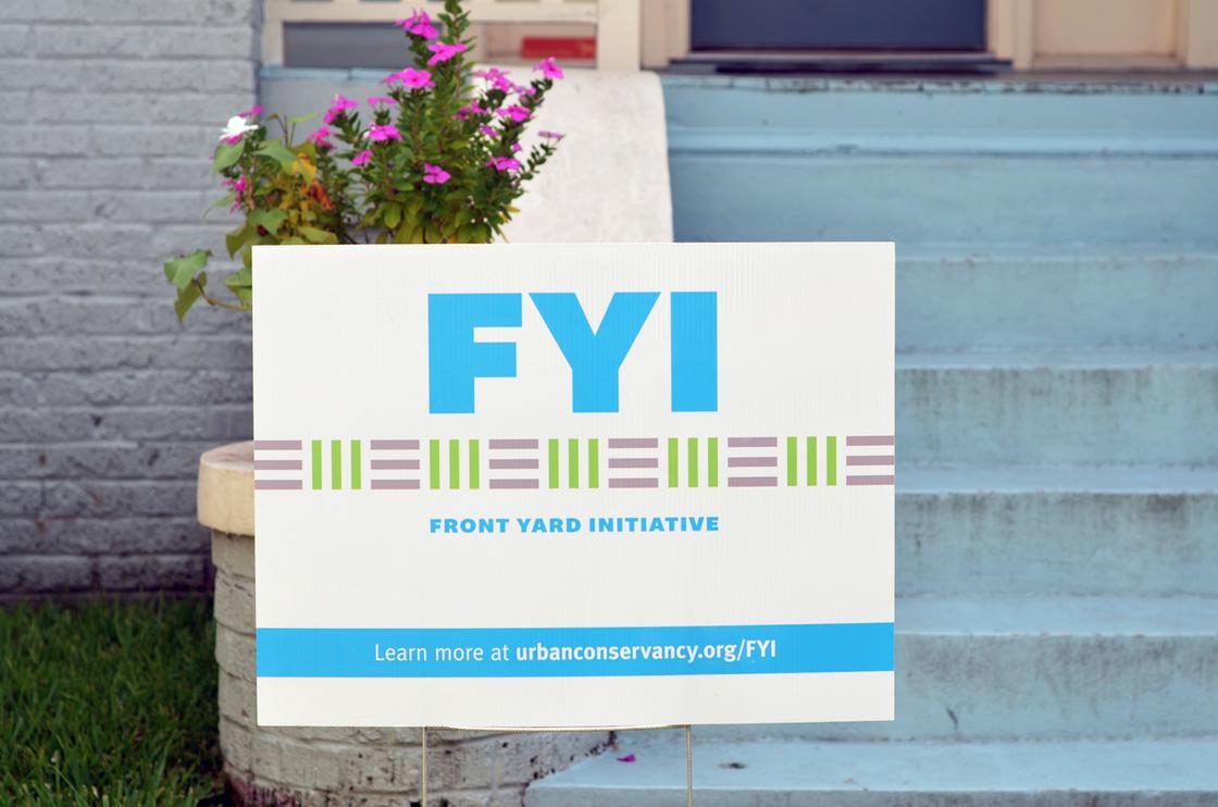 Front Yard Initiative Yard Sign 3