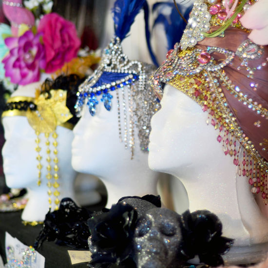 New Orleans Costume Center Headdresses 1