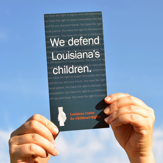 Louisiana Center Childrens Brochure 1