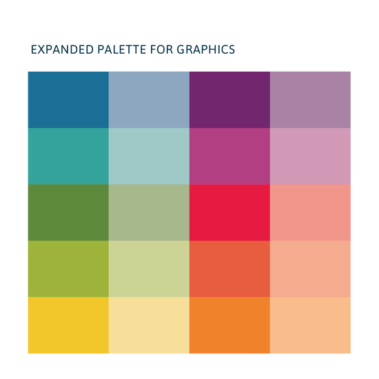 The Data Center Chart Colors