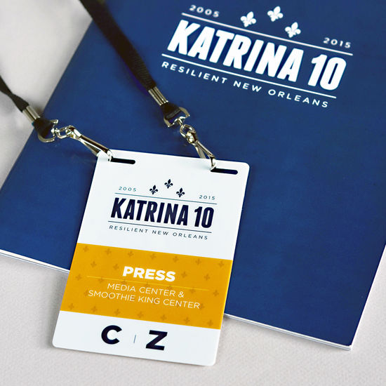 Katrina 10 Media Press Pass