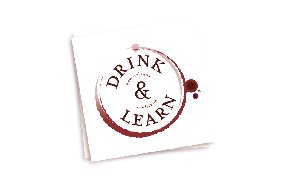 Drink And Learn Logo Napkin