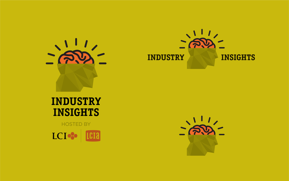 LCI Industry Insights Logos Gold