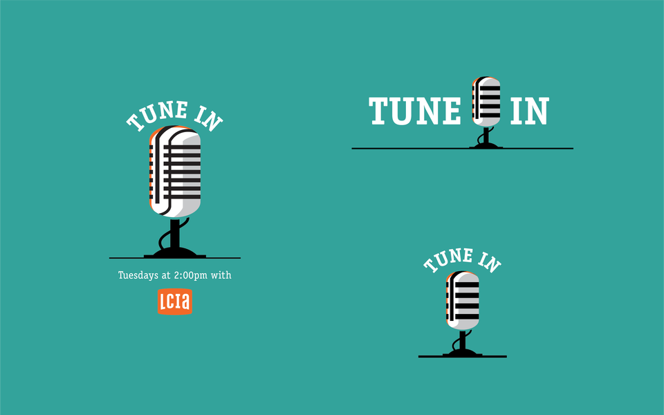 LCI Tune In Logos Teal