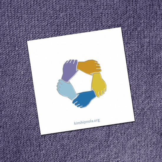 Kinship Enamel Pin Purple