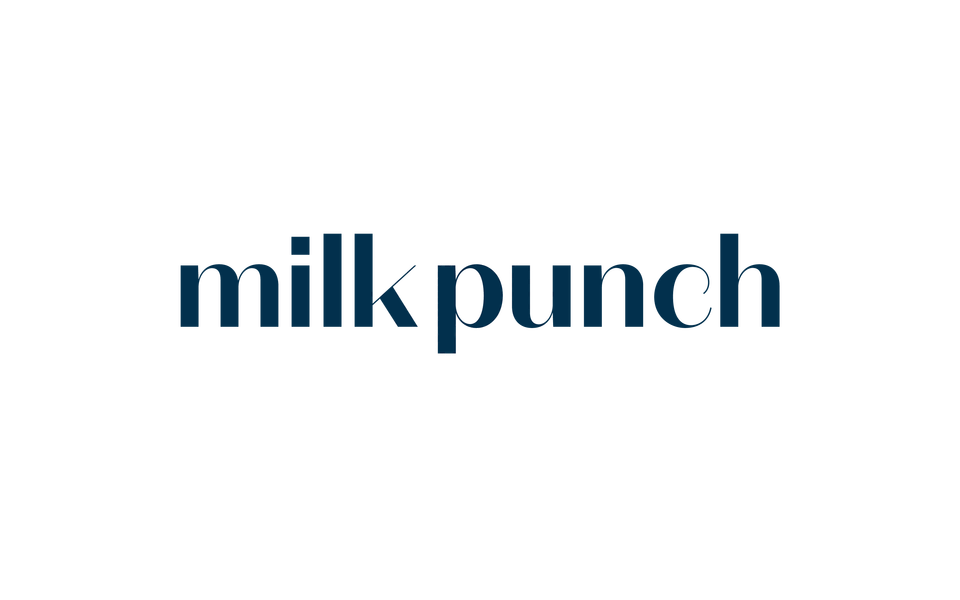 Milk Punch Logo On Light 2