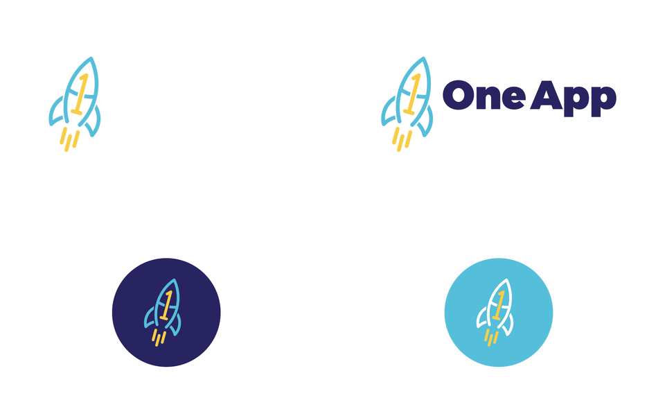 One App Logo Variants