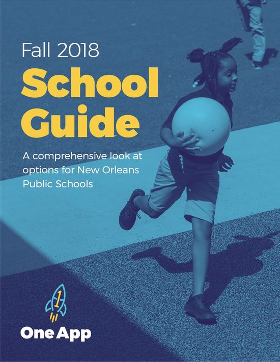 One App School Guide Cover